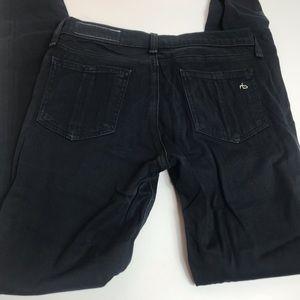 Rag & Bone jeans black legging Sz 27